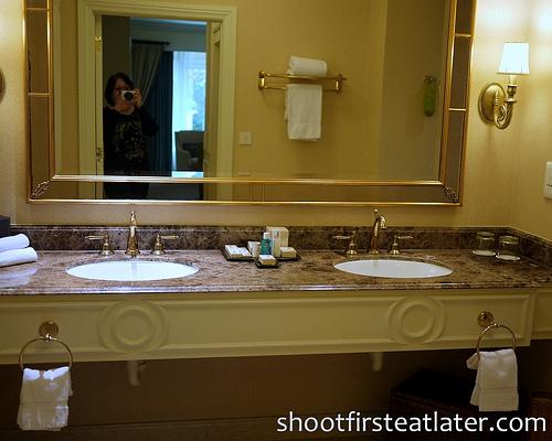 Venetian Macau - Verona Suite- master bathroom