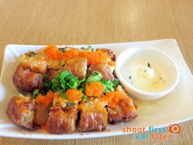 Hainan Shaoye - youtiao stuffed with seafood HK$68