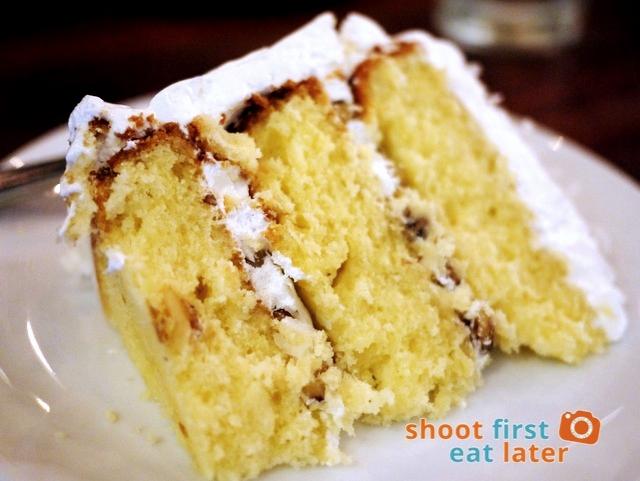 coconut cake P175