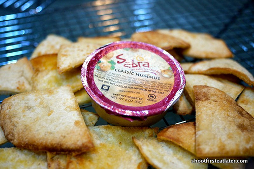 Garlic Parmesan Pita Chips-8