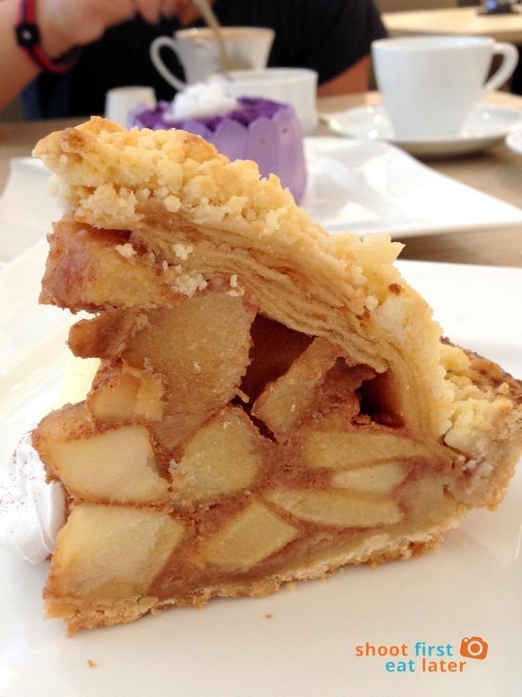 Mentoré Coffee + Bar by UCC- apple crumb pie P185-001