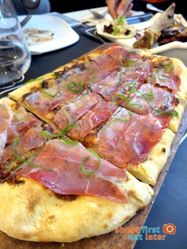 Todd English Food Hall Manila- Fig & Prosciutto Flatbread Pizza P530