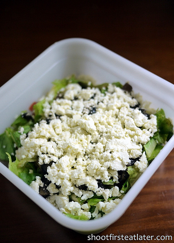 Cohen Lifestyle Seafood Meals- feta cheese salad