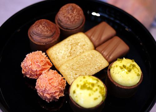 Tosca at the Ritz-Carlton Hong Kong- Petit Fours