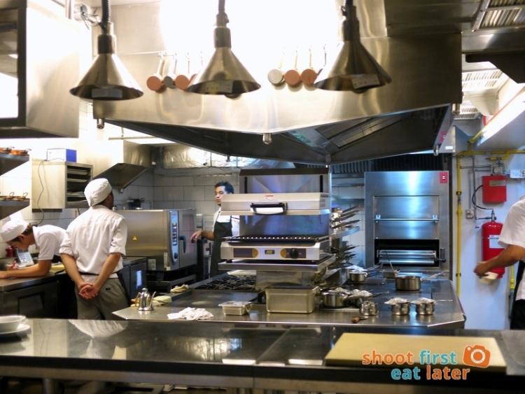 Allium Restaurant - Kitchen