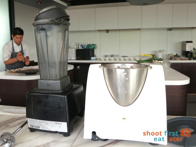 Vitamix and Thermomix