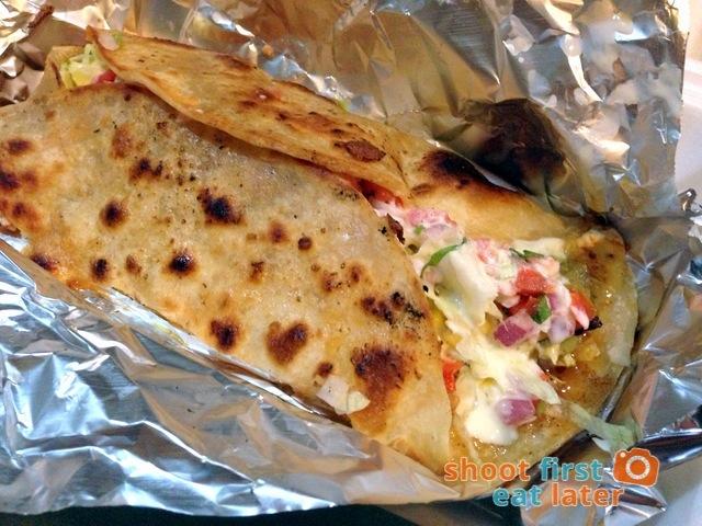 B&T Mexican Kitchen - carnitas tortilla wrap
