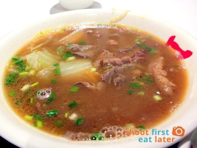 Sands Cotai Central Food Court- beef noodle soup HK$75