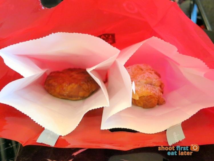 Le Salon de Thé de Joel Robuchon (Elements HK)- Breton cake and almond croissant