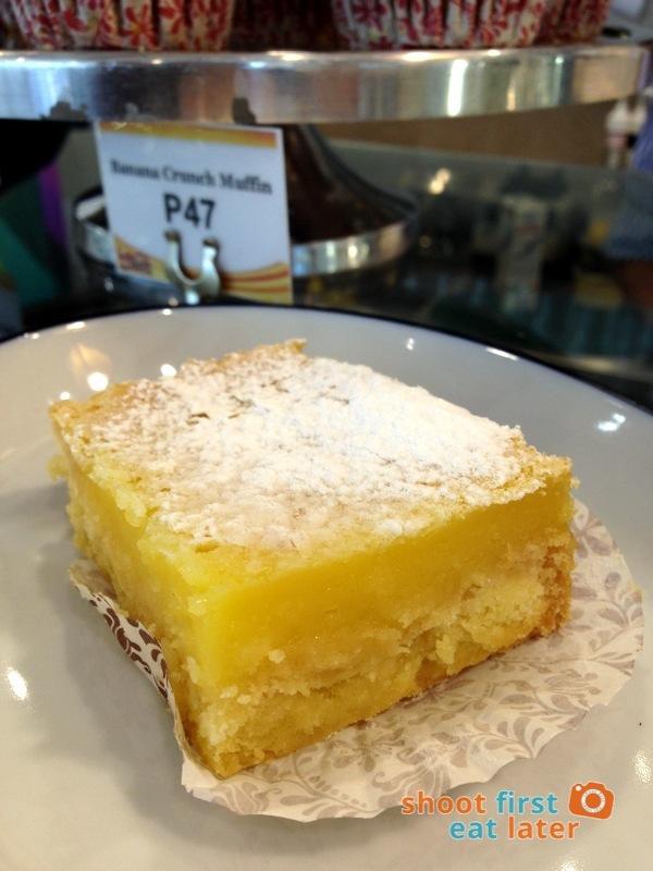 Lucca Bakery (SM Mega Fashion Hall)- Lemon Bar P50-001