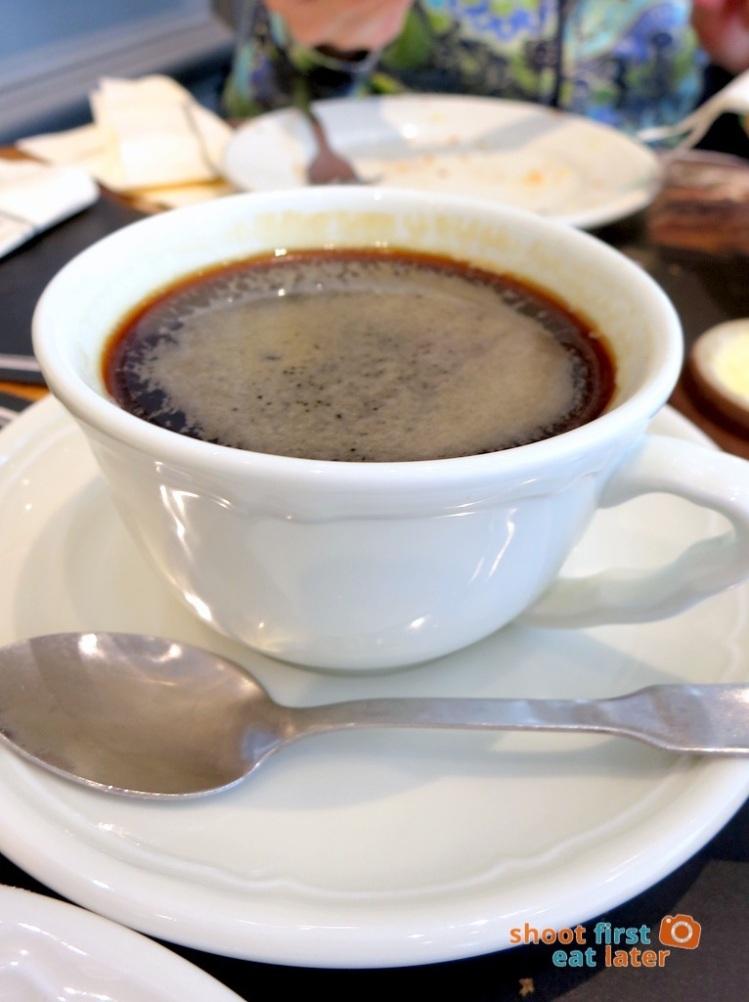 Paul Boulangerie Manila- grand cafe (large black) P110