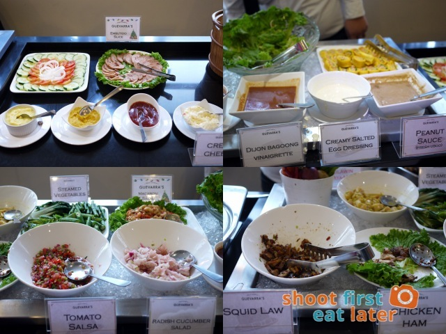 Chef Laudico Guevarra's- salads and sauces