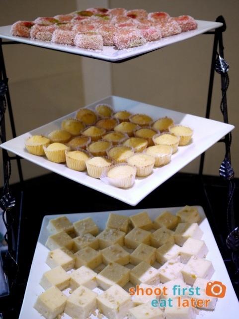 Chef Laudico Guevarra's- macaroon, maja blanca