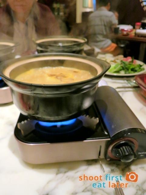 Nonya laksa soup