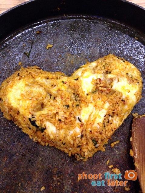 marinated chicken galbi fried rice P245