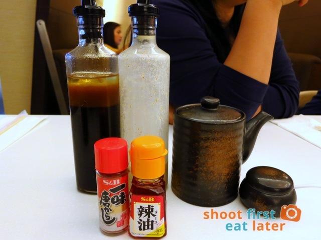 Ginza Bairin Philippines- sauce