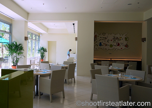 Pico Sands Hotel- the coffee shop