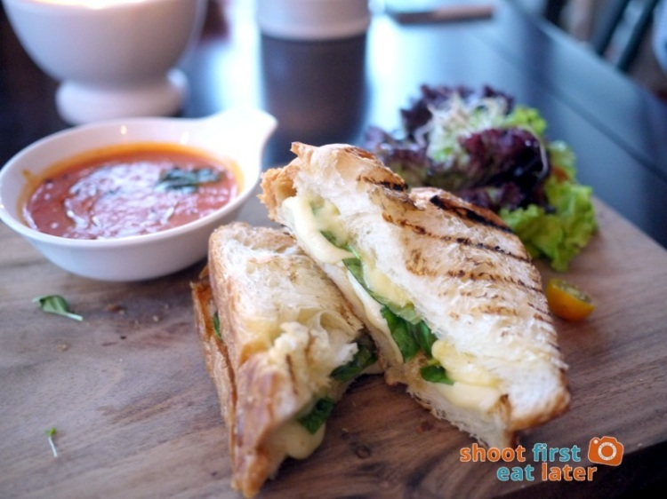 Refinery at Rockwell- Honey Basil Grilled Cheese P280