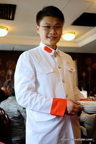 China Club waiter