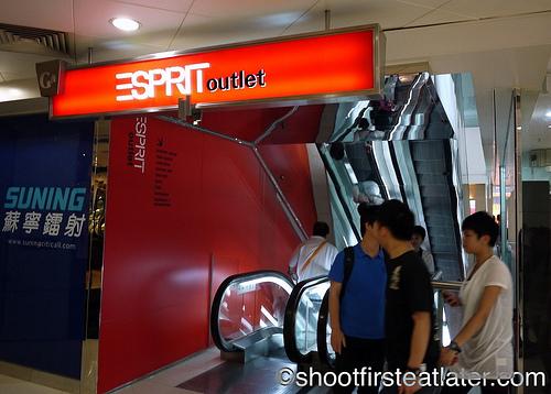 Esprit Outlet, Mong Kok, Hong Kong