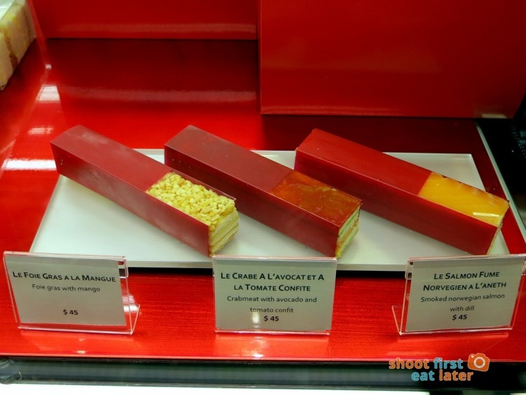 Le Salon de Thé de Joel Robuchon (Elements HK)- cold sandwiches