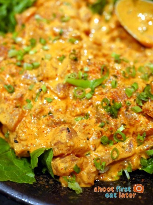 Inagiku, Makati Shangri-La- spicy tuna salad