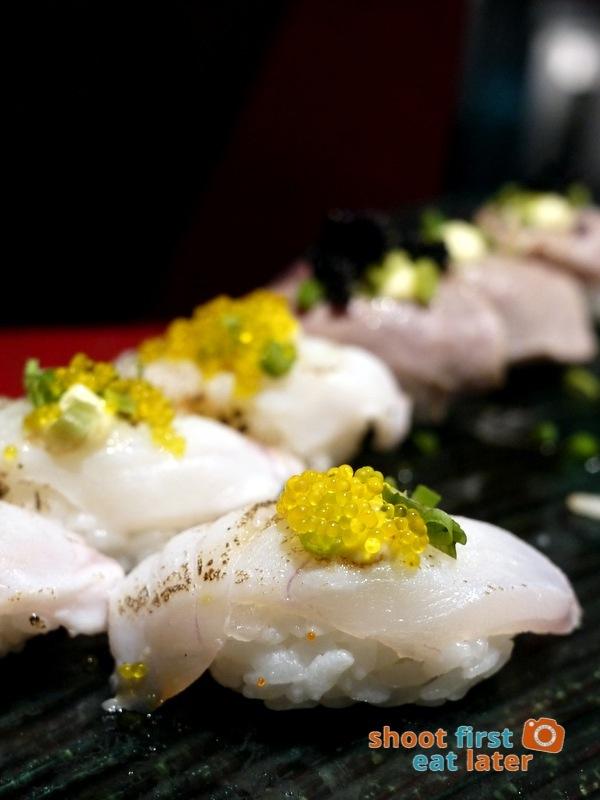 Inagiku, Makati Shangri-La- sushi