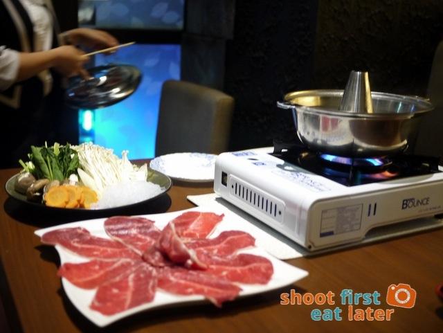 shabu shabu US beef P2,200