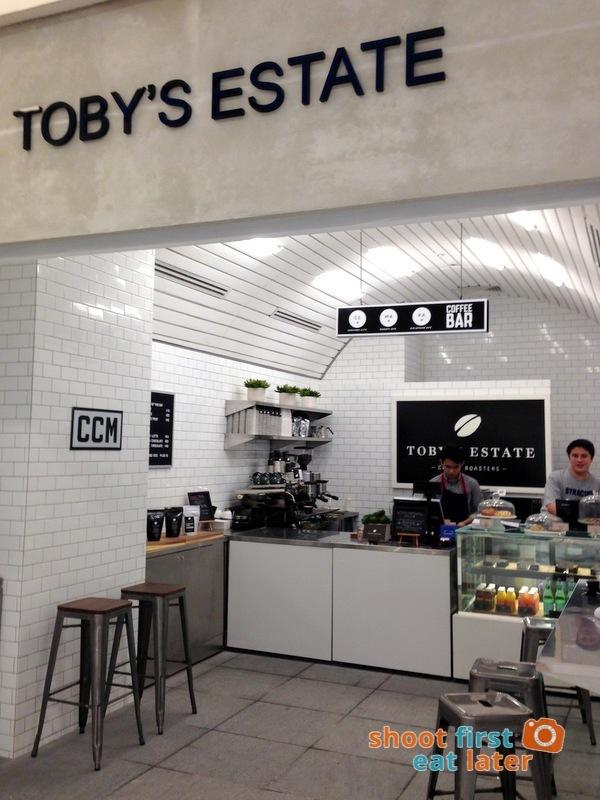 Toby's Estate Manila - Century CIty Mall