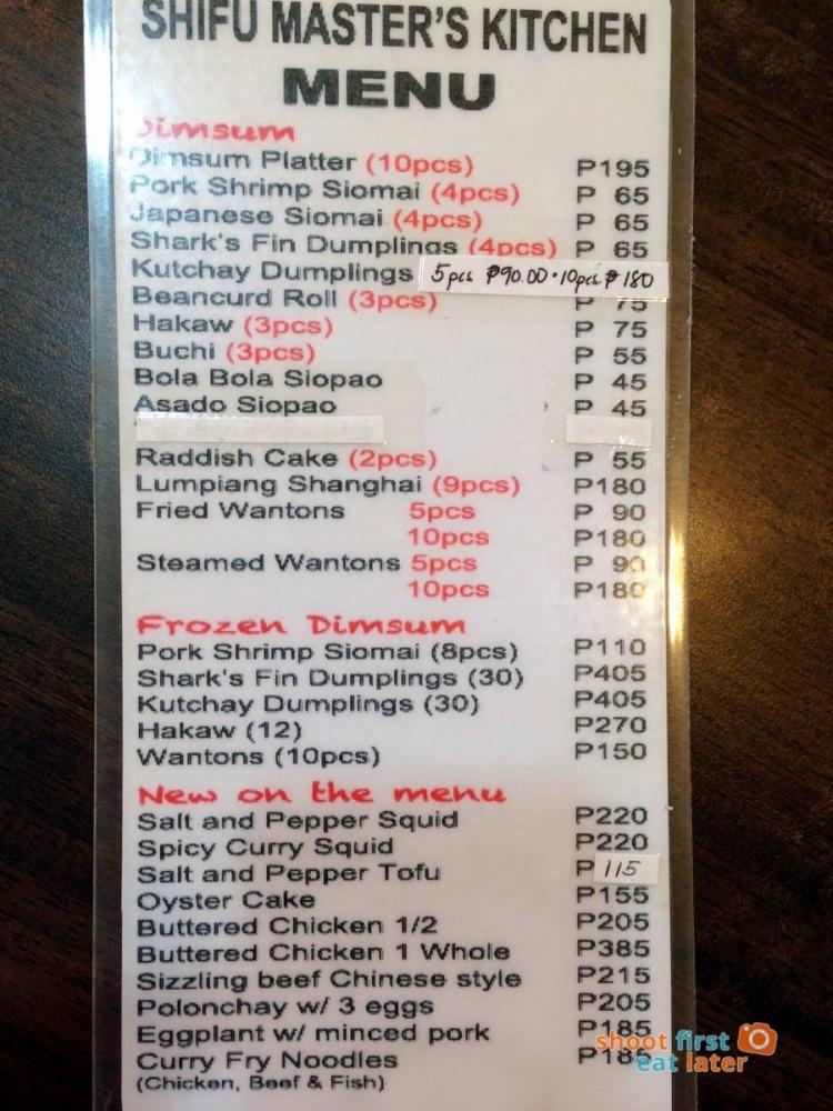 Shifu Master's Kitchen menu-002