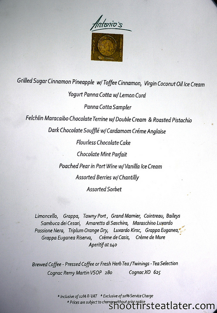 Antonio's Tagaytay March 2011 dessert menu-4