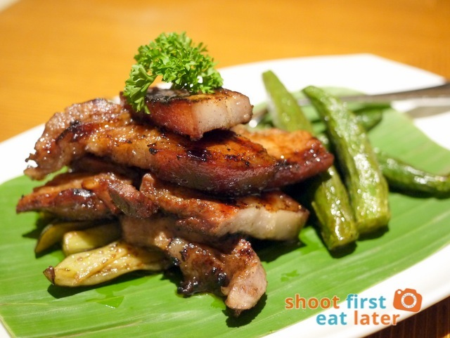 Sun Coral Cafe Hamilo Coast - Inihaw na Liempo (grilled pork belly)
