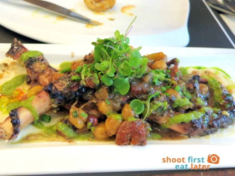 Todd English Food Hall Manila- Charred Octopus P365