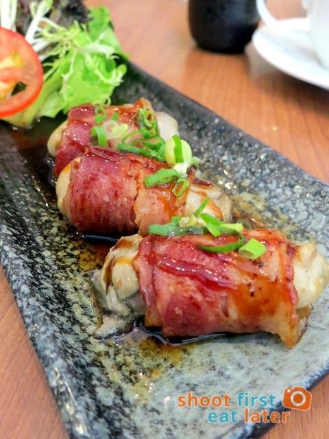 Romankan Yokohama- bacon rolled with Hiroshima oysters HK$58