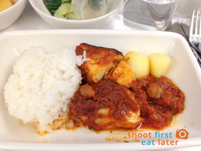 bacalao-style cod fillet in tomato bell pepper  sauce