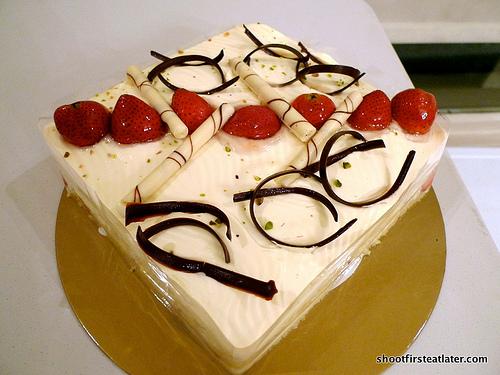 Bizu's strawberry cake