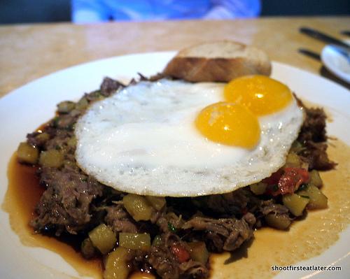 House-Brined Corned Beef Hash