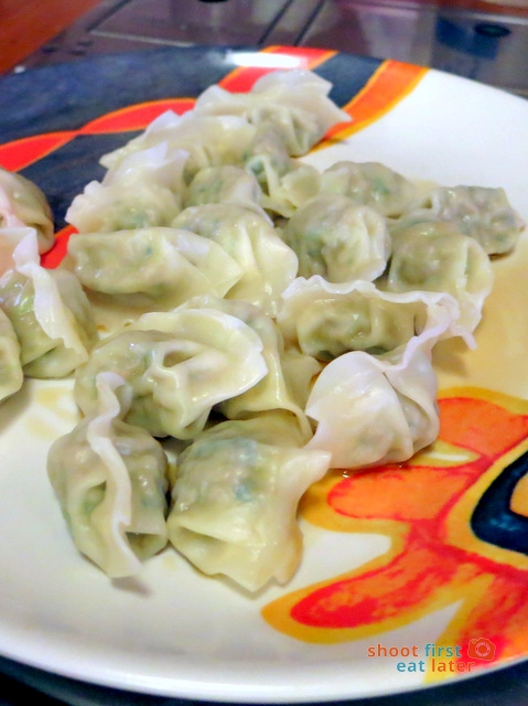 Han Guuk Guan- jin maan du - Korean steamed dumplings A$8 (8pcs)