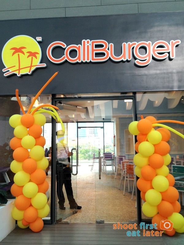 Century City Mall Manila- Caliburger