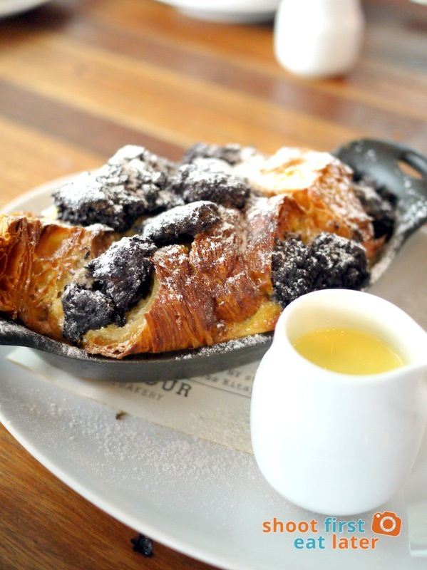 Wildflour Cafe + Bakery (Fort Bonifacio)- Bread Pudding P210