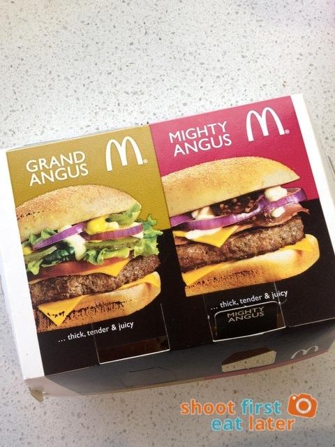 McDonald's Mighty Angus Burger