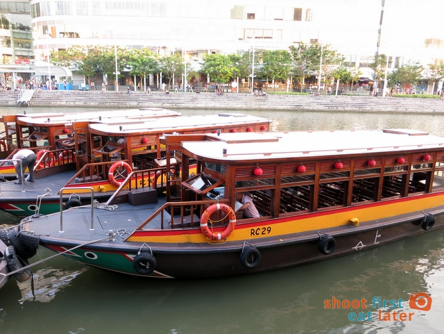 Singapore River Cruise boats