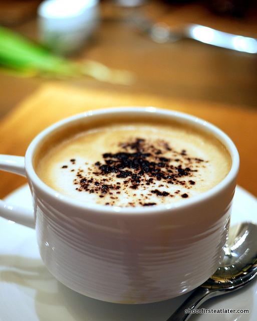 double shot espresso cappuccino