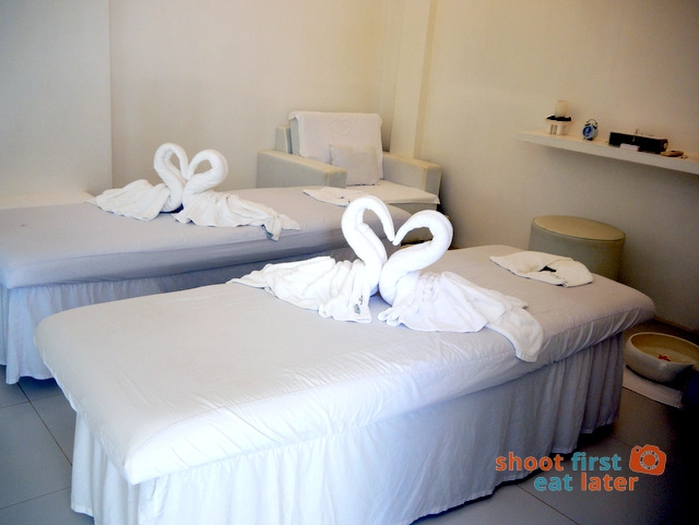 The Balesin Spa couples room