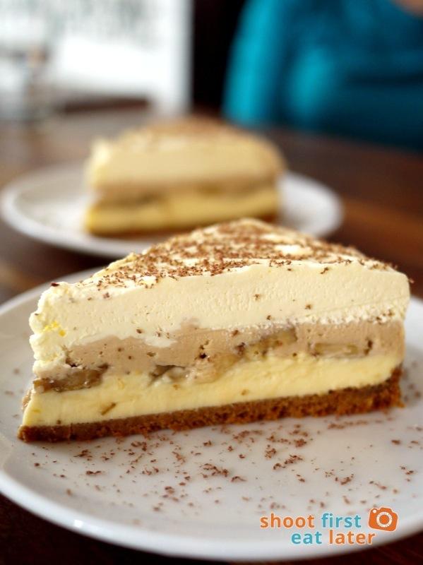 Wildflour Cafe + Bakery (Fort Bonifacio)- Peanut Butter Banana Cream Pie P190