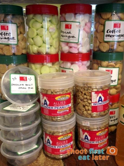 Connie's Kitchen Deli - meringue, Allies wonder peanuts