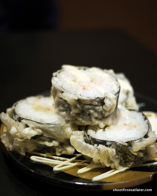 hairy crab tempura roll