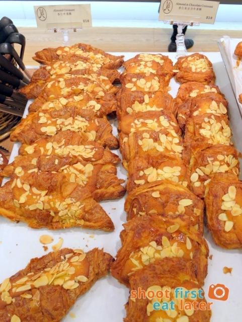 Eric Kayser Hong Kong - almond croissant HK$18 almond & chocolate croissant HK$18