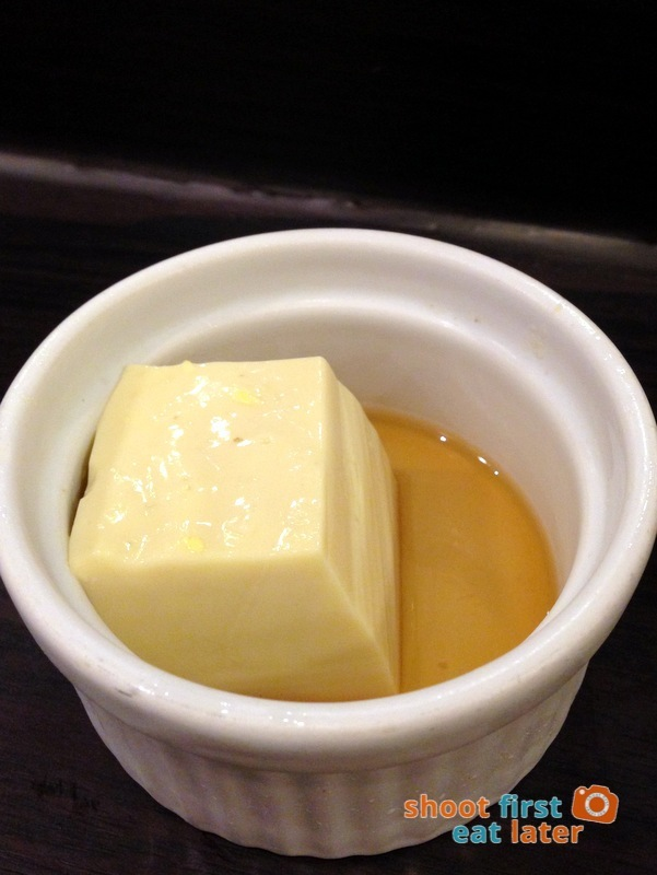Tanabe Japanese Resaurant- cold tofu appetizer