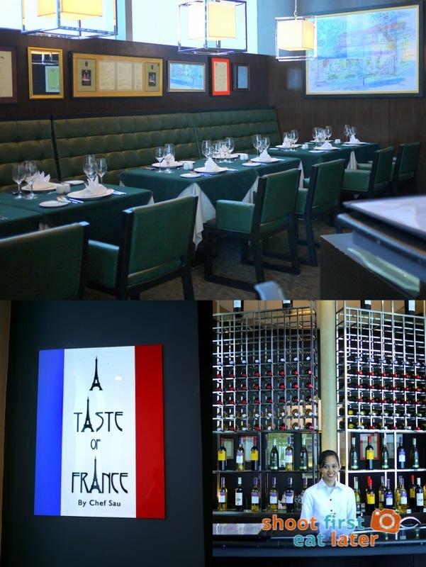 Alphaland's The City Club- Taste of France by Chef Sau
